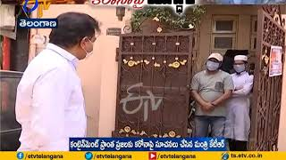 KTR interacts with residents of containment zone in Hyd, c..
