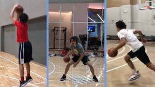 Cole Anthony, North Carolina Commit Putting In Work On Perimeter Shot & Ball Handling!