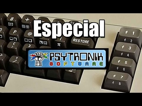 Especial PSYTRONIC:  Commodore 64