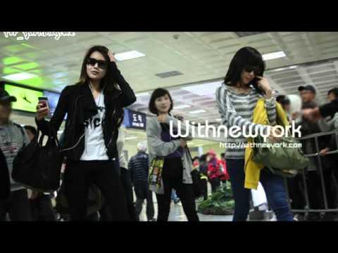 少女時代  SNSD  Tiffany  new rap on Genie (studio version)