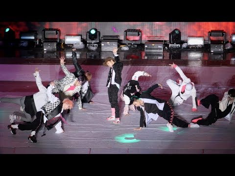 170708 NCT 127 _ Cherry Bomb 체리밤 직캠 _  SMTOWN LIVE Concert