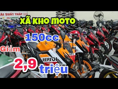 thanh lí gấp moto r15v2,r15v3,TFX150,CBR150,suzuki gsx150r,giảm giá mạnh có góp  Mỹ Motor