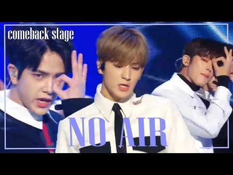 [Comeback Stage] THE BOYZ  -  No Air , 더보이즈 -  No Air Show Music core 20181201