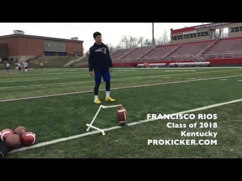 Francisco Rios, Prokicker.com Kicker, Class of 2018