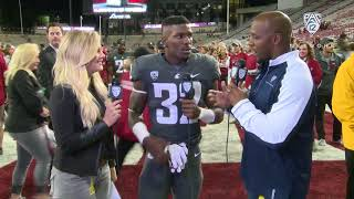 James Williams talks beating his hometown team after Washington State topped USC