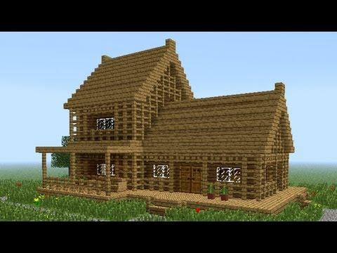 Building stampys house 42 clubhouse hill and stairs for Minecraft holzhaus