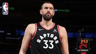 Raptors vs Knicks | Full Game Recap: Marc Gasol Makes His Toronto Debut