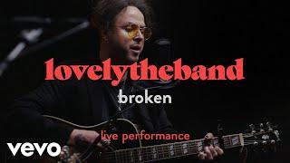 "lovelytheband - ""broken"" Official Performance | Vevo"