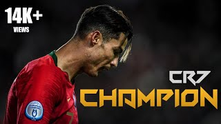 BR FOOTBALL CHAMPION SONG. FEAT. CR7 SAVING HIS TEAM