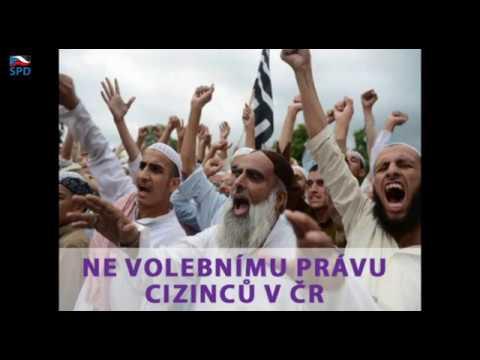 Tomio Okamura: NE volebnímu právu cizinců v ČR