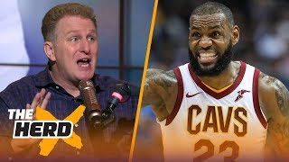 Michael Rapaport believes Lonzo Ball wouldn't want LeBron on the Lakers | THE HERD