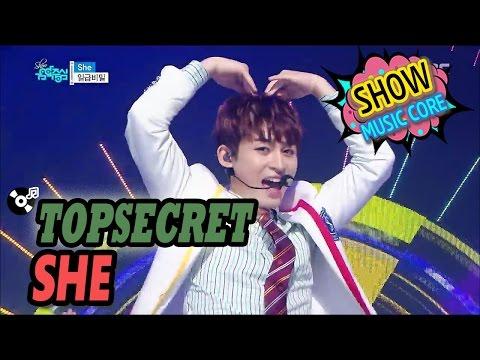 [HOT] TOPSECRET(일급비밀) - She, Show Music core 20170225
