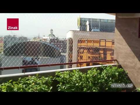 Zinak | Redes de Protección para balcones, terrazas y ventanas
