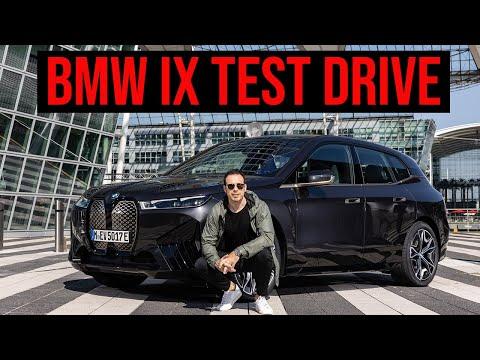 2022 BMW iX xDrive50 Test Drive | Design, Range, Tech & Driving