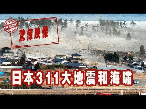 日本311大地震和海嘯的驚悚映像│Japan Earthquake Tsunami
