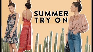 Summer Clothing + Accessory Try On Haul | Nordstrom Rack
