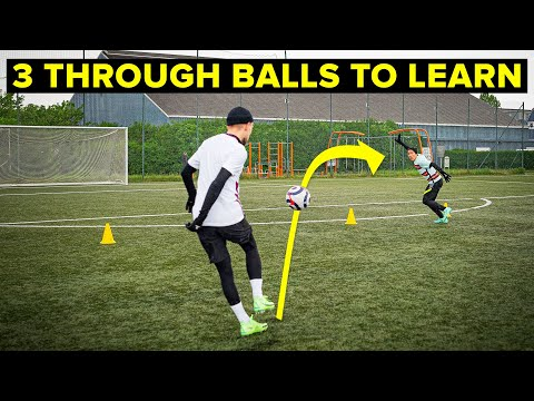 Break defenses with these 3 through ball techniques