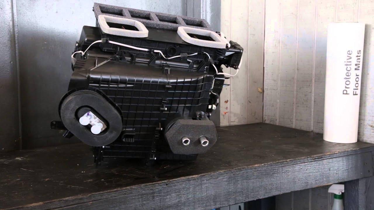 2008 Nissan Altima Evaporator Box - YouTube