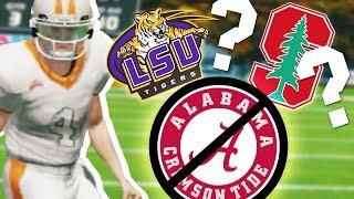 I Said NO to Attending Alabama // NCAA 14 Road to Glory #5