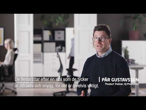 AJ Produkter | Hur du väljer rätt kontorsstol