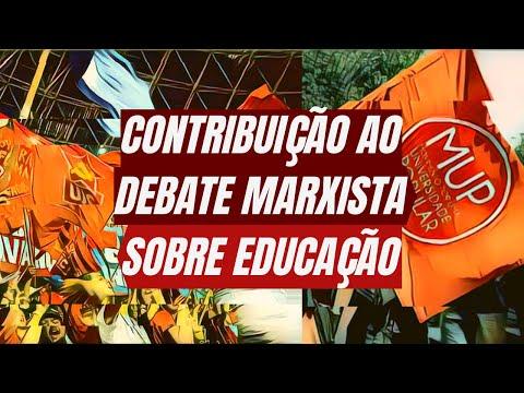 Contribuição ao debate marxista sobre educação