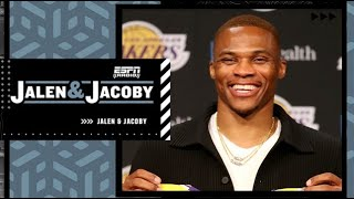 Russell Westbrook claps back at people calling the Lakers an old team   Jalen & Jacoby