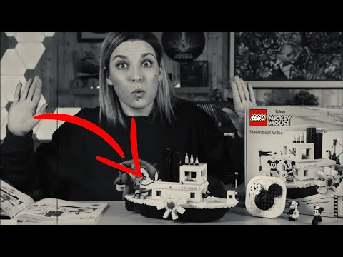 LEGO Steamboat Willie è una macchina de …