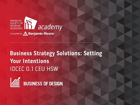 Course Preview: Business Strategy Solutions: Setting Your Intentions