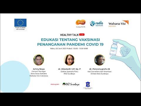 Vaksin Covid 19, Aman & Halal Nggak ? | Healthy Talk Wahana Visi Indonesia