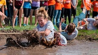 UIS Springfest Mud Tug-of-War 2017