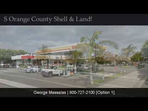 South Orange County - Shell Gas Station With Land!