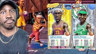 LEBRON JAMES DANCING WITH NEW TEAMMATE THOMAS! NBA Playgrounds Gameplay Ep. 25