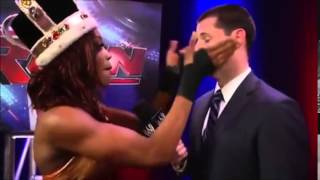 Alicia Fox slaps Tom Phillips