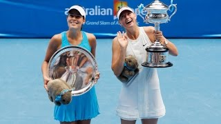 Maria Sharapova VS Ana Ivanovic Highlight 2008 AO Final