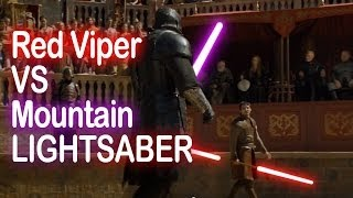 Game Of Thrones – The Red Viper (Oberyn Martell) vs The Mountain (Gregor Clegane)