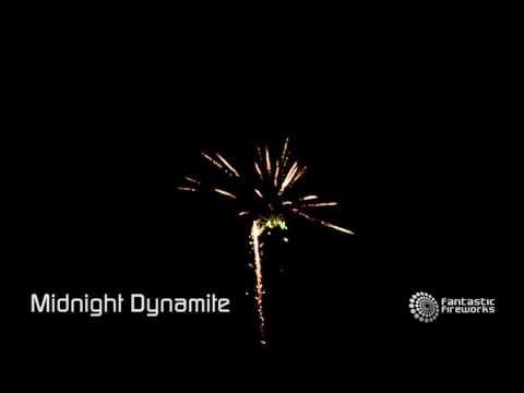 Fantastic Fireworks Midnight Dynamite - 37 shot firework