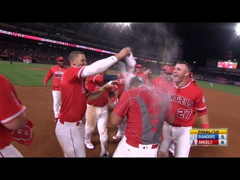 Los Angeles Angels Of Anaheim vs Texas Rangers