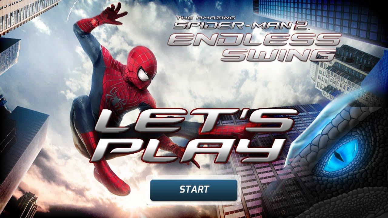 Jogo The Amazing Spider-Man 2 Endless Swing Online Gratis