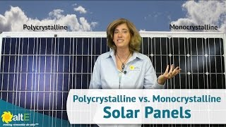 Monocrystalline vs. Polycrystalline Solar Panels - What's the Difference?