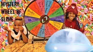 Don't Choose The Wrong Slime Ingredients (Mystery Wheel Of Slime Challenge)