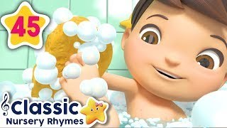 NEW Bath Song | +More Baby Songs | Nursery Rhymes | Little Baby Bum