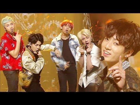 《Comeback Special》 BTS(방탄소년단) - FIRE(불타오르네) @인기가요 Inkigayo 20160515