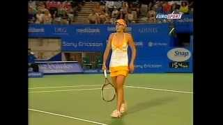 Nicole Vaidisova(2007 Sydney QF) Vs Ana Ivanovic(Tiojano64) .avi