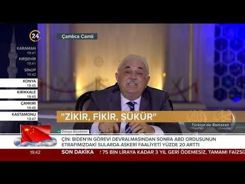 Türkiye'de Ramazan – 29 04 2021
