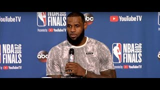LeBron James Interview | NBA Finals Game 4 Media Availability