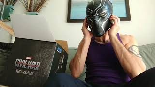 BLACK PANTHER Killerbody brand mask helmet review
