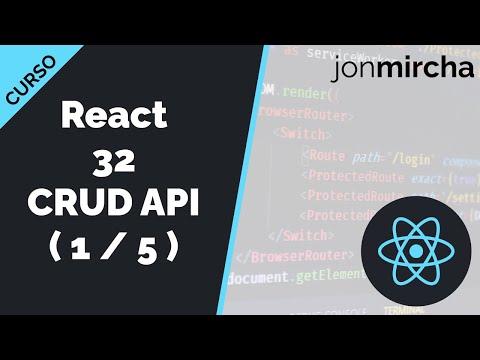 Curso React: 32. CRUD API: Creando una API con JSON Server ( 1 / 5 ) - jonmircha