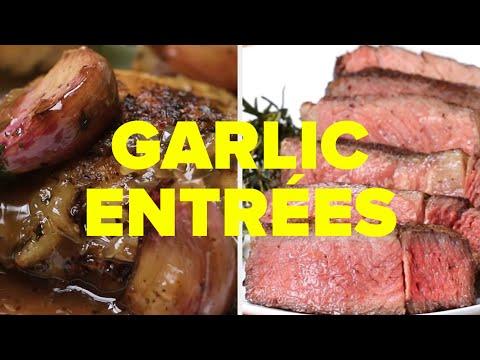 8 Entrées For Garlic Lovers