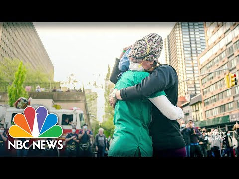 Health Care Heroes Shares Their New Year's Wishes | NBC Nightly News