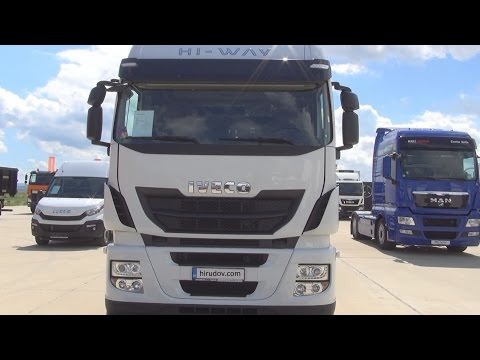 Iveco Stralis AS440S46T/P Hi-WAY 4x2 Tractor Truck (2016) Exterior and Interior in 3D